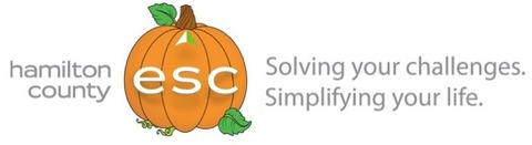 Hamilton County ESC logo - solving your challenges, simplifying your life.