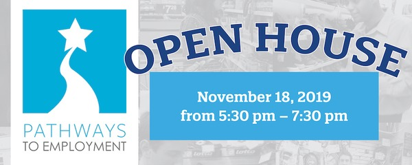 graphic: Pathways to Employment Open House