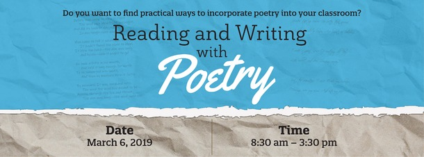 Graphic: Reading and Writing with Poetry
