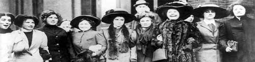 Women in New York 1909