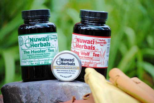 Herbal Teas from Nuwati Herbals