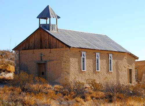 Old church in Terlingua