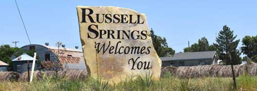 Russell Springs Welcome Rock