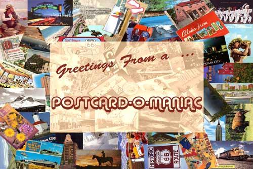 Postcards at Legends' General Store