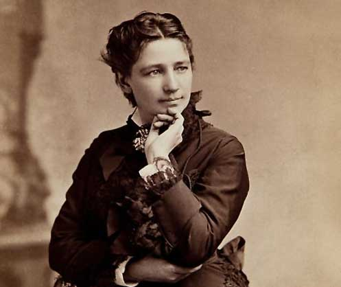 Victoria Woodhull in the 1860s