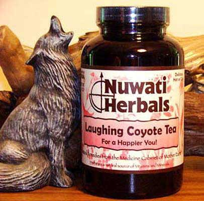 Laughing Coyote Tea from Nuwati Herbals