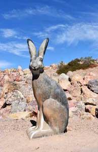 Statue of Rabbit in Boulder City