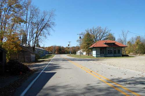 Funks Grove Illinois on Route 66