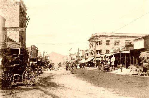 Goldfield Nevada early 1900s