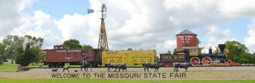 Sedalia Missouri State Fair Entrance