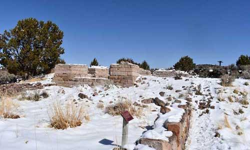 Iron Town Utah ruins