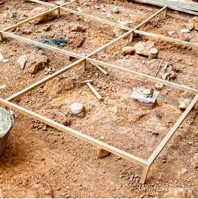 A little excavation